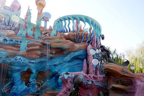 這是小美人魚的城堡