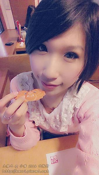 趁機來跟帝王蟹的筷架拍照ww
