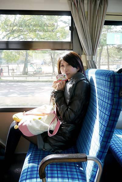 我第一次搭日本的公車~~