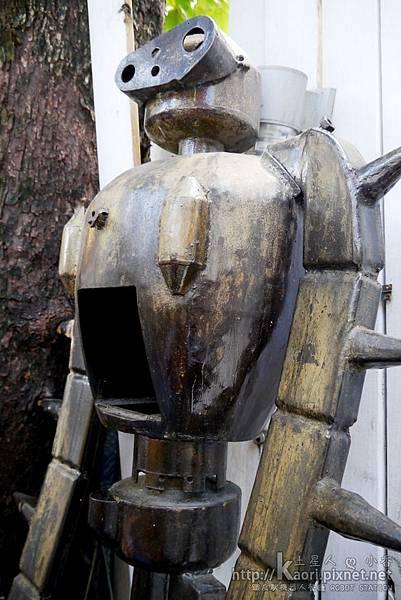 機器人士兵特寫