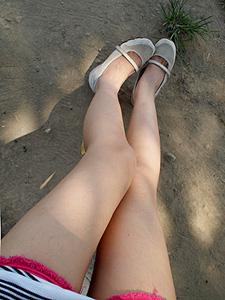 短褲 肥短腿