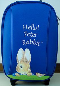 比得兔小行李箱