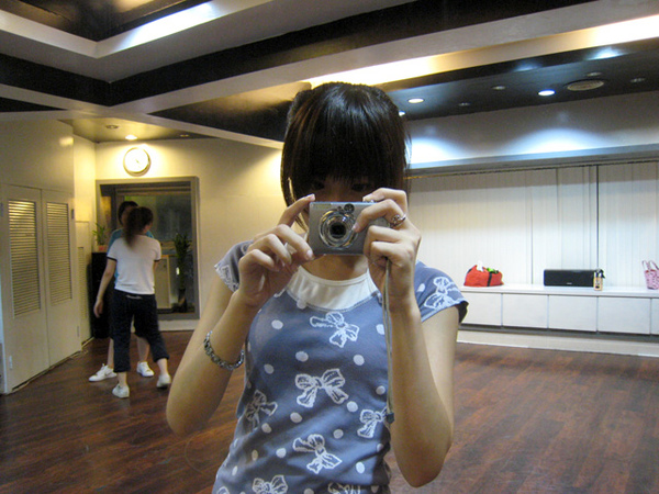 舞蹈課 今天跳的舞好痛QQ