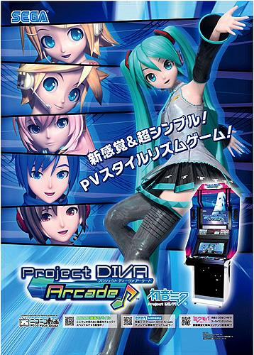 初音ミク Project DIVA Arcade♪場測