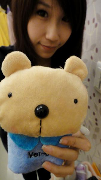 小熊來個特寫吧
