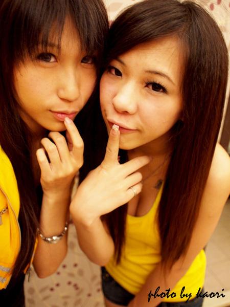 """小香跟可愛的Uin妹妹 那要念""""ㄨ妮""""喔!"""