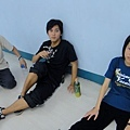 放空的三個人(累了XD