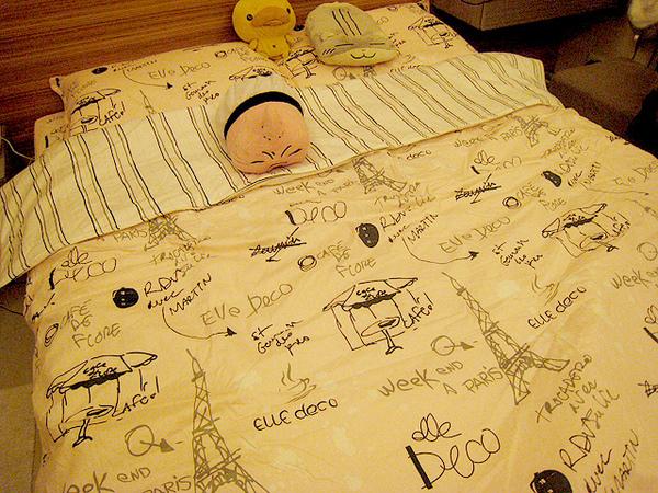 另外一個新床單^^
