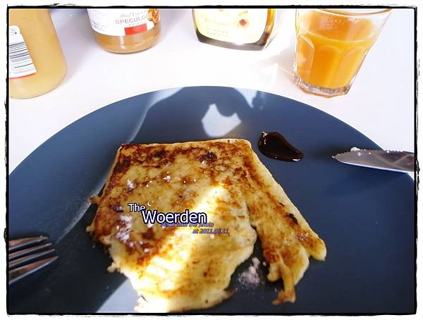 sheila親手做的愛心早餐!