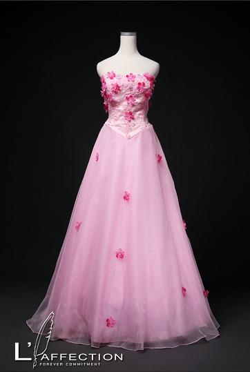 外景-粉紅禮服