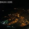 香港回台灣的台灣夜景.JPG
