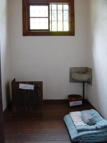 明治時代的監獄房間
