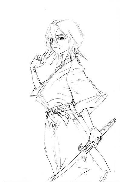 死神BLEACH-朽木露琪亞