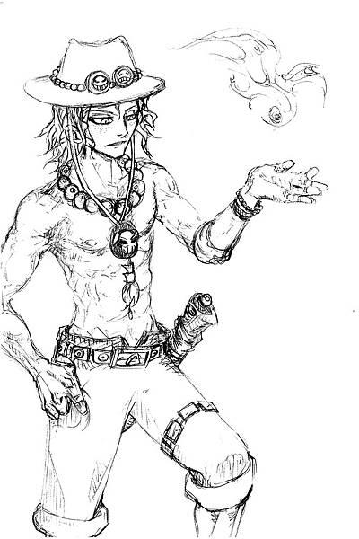 海賊王-艾斯