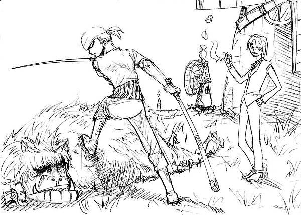 海賊王-三劍客與臭廚師
