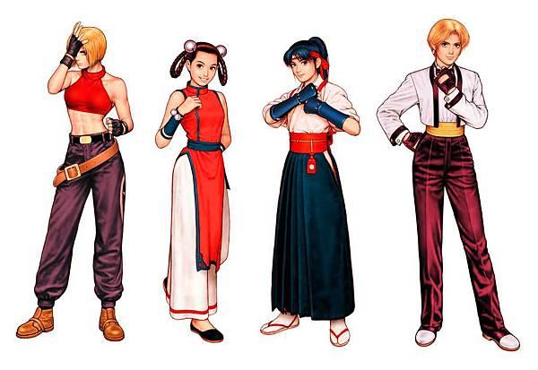 KOF99 女性格鬥家隊