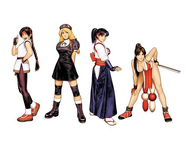 KOF2000 女性格鬥家隊