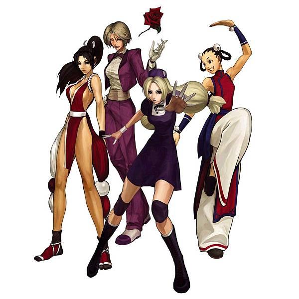KOF2001 女性格鬥家隊