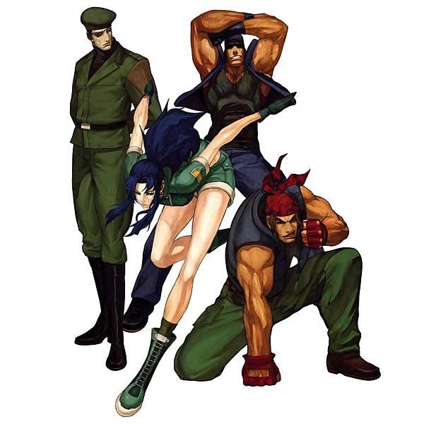 KOF2001 怒隊