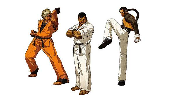 KOF2002 龍虎之拳隊