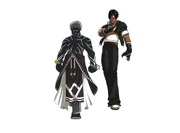 KOF2003 穆凱、暗黑草薙京