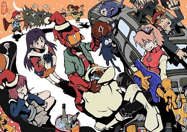 FLCL-2008聖誕應景圖