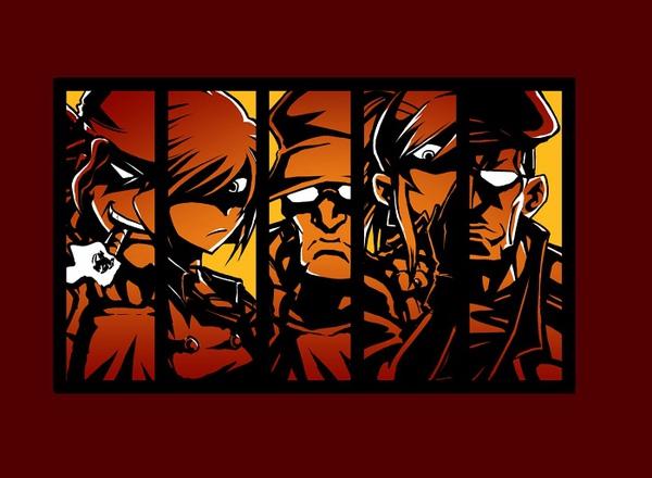 傭兵紅-前圖