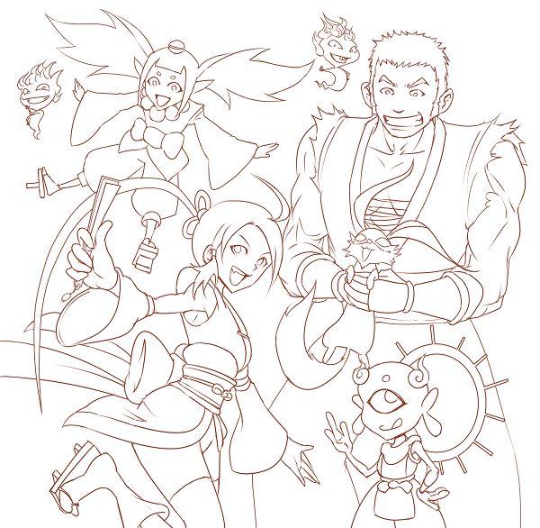 月華:小明與十三與愉快的夥伴們