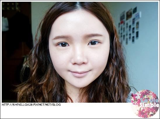 3CE Body to Body 眼妝教學-底妝與眉毛