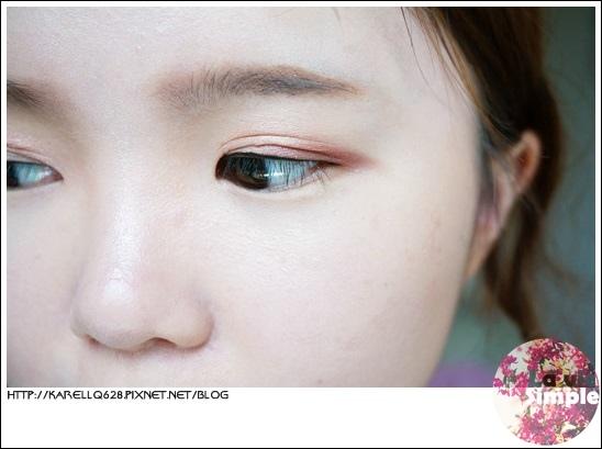 夏日微醺 酒紅眼妝 教學