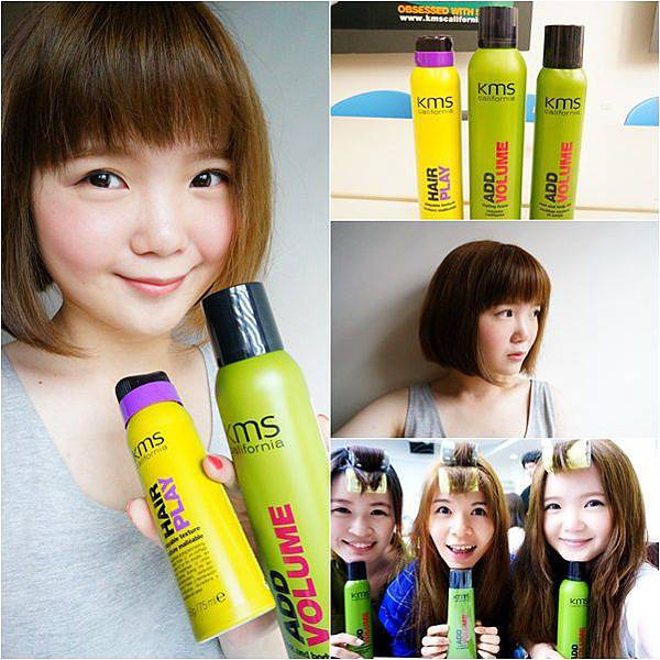 KMS 蓬蓬髮 蓬鬆髮 造型