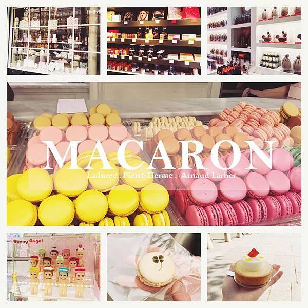 法國必吃 甜點名店 Ladurée  PierreHermé  ArnaudLarher 馬卡龍