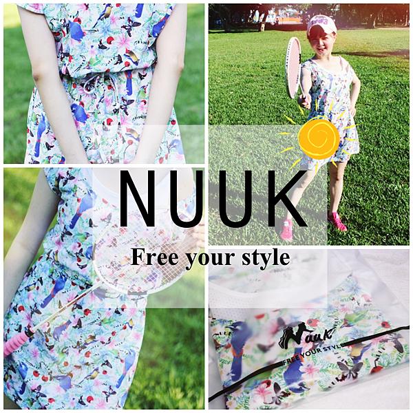NUUK 運動服飾 時尚運動穿搭