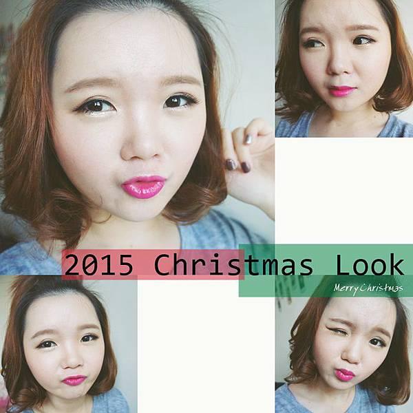 聖誕妝 妝容 教學 聖誕