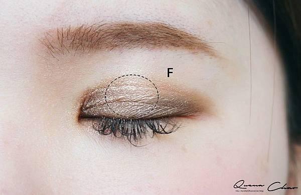 1028 眼影 眼影盤 蒙布朗 六色眼影