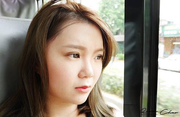 妝容挑戰 公車化妝 makeup challenge
