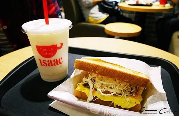 ISSAC 韓國早餐店 韓國三明治 捷運美食