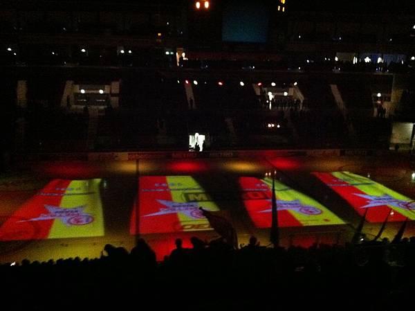 Ice Hockey night-DEG Metro Stars against ERC Ingolstadt