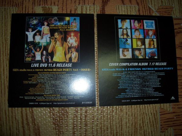 2002HOTORO BEACH PARTY DVD