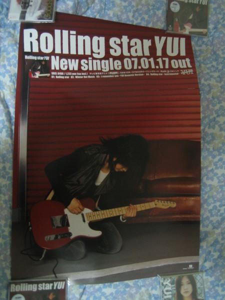 Rolling star ポスタ-