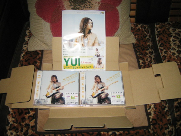 YUI- Can't buy my love