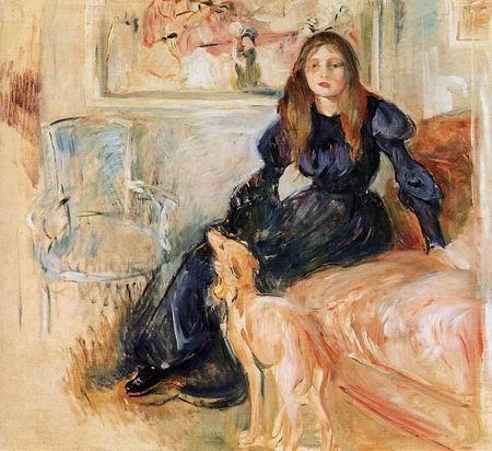 Julie Manet and Her Greyhound, Laertes