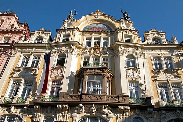 Rococo-facade