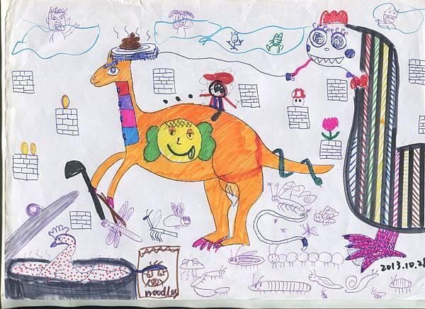 2013.10.28 恐龍時代與瑪莉歐.jpg
