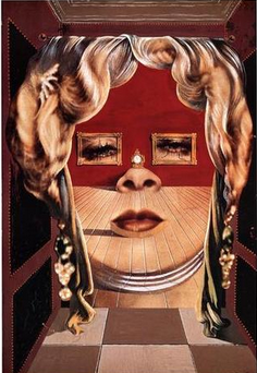 Face of Mae West