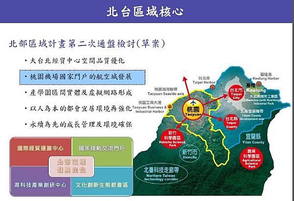 航空城 亞太樞紐 北台灣區域核心