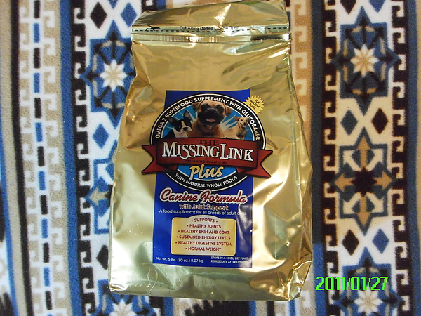 Missing Link Glucosamine Plus Supplement葡萄糖胺關節保養品.JPG
