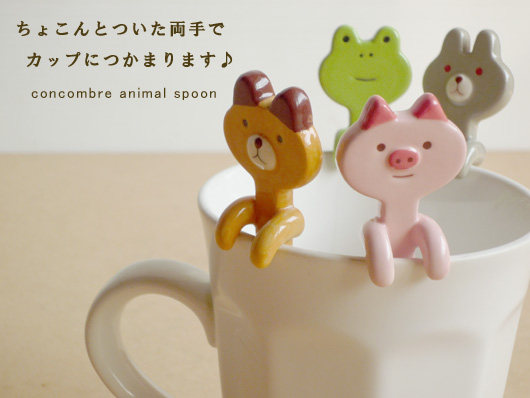 可愛動物造型湯匙/390