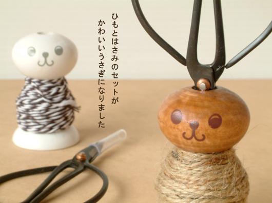 天然木小兔兔裁縫組/490