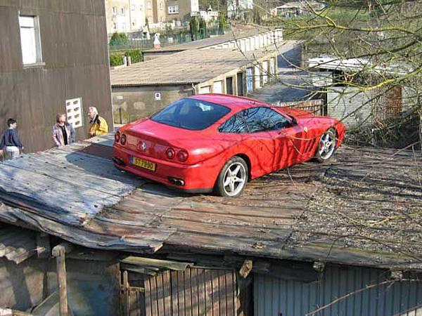 屋頂當車庫‧大陸爆發戶1